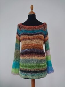 Noro yarn knits