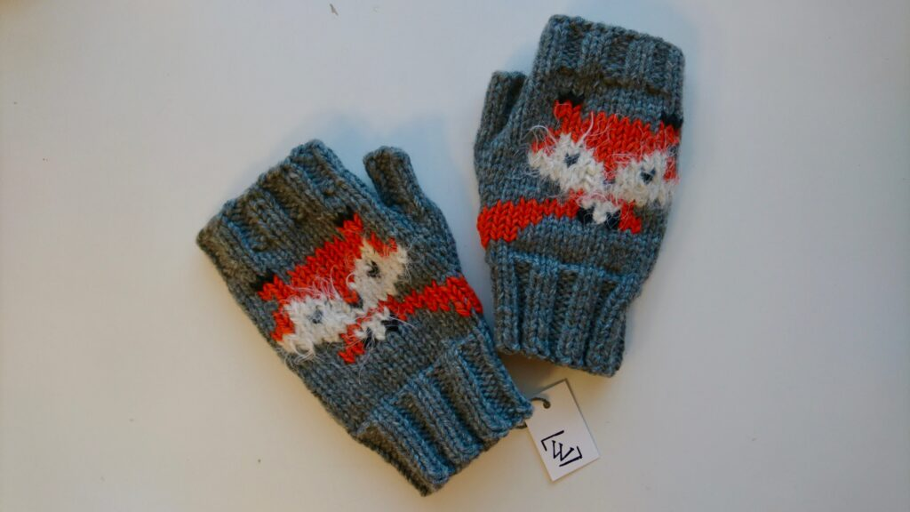 fox knitted
