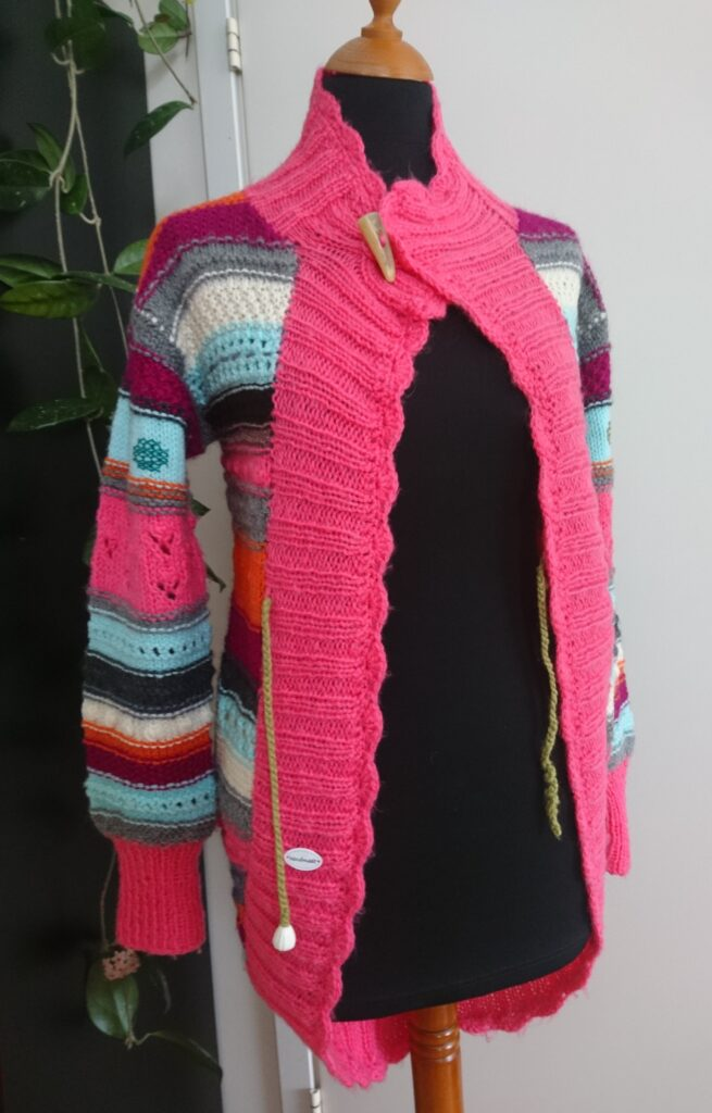 Colorful cardigan