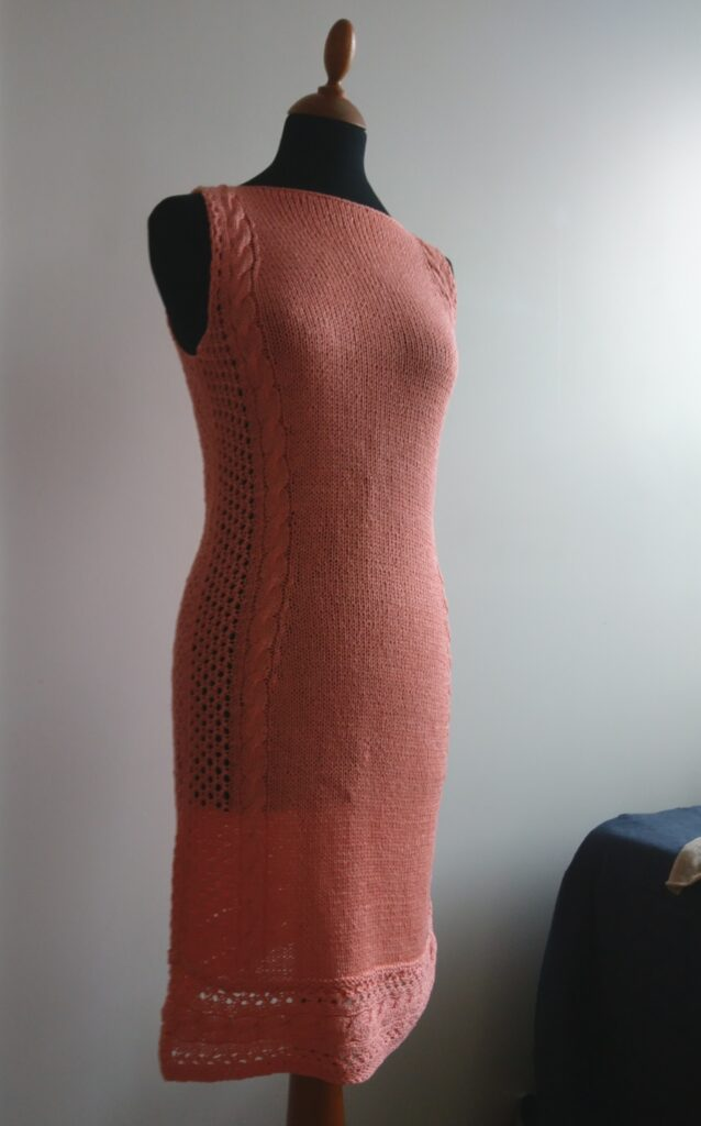 Beautiful knitted summer dress