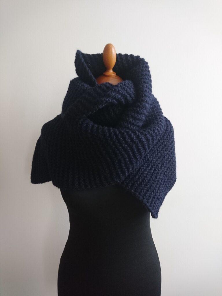 Sossu scarf blue